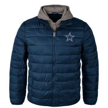 Dallas Cowboys Three Point NFL Full Zip Hooded Jacket