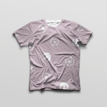 Star Wars Symbols Inspired T shirt in pink