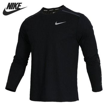 VONWZ7 Original New Arrival 2018 NIKE TAILWIND TOP LS GXT Men's T-shirts Long sleeve Sportswear