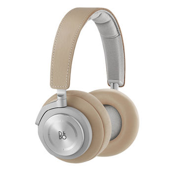 Natural Tan Leather Headphones by Bang & Olufsen