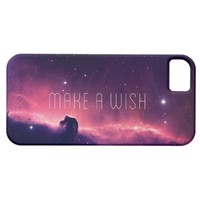 Beautiful Purple Pink Space Galaxy Nebula Photo iPhone 5 Cases