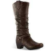 Joya Extra Wide Width Wide Shaft Tall Slouch Boots