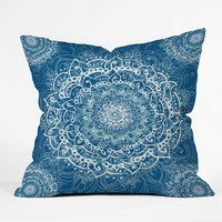 Sweet Mandala Outdoor Throw Pillow Rosebudstudio