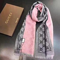 GUCCI New fashion more letter print couple keep warm scarf No Box