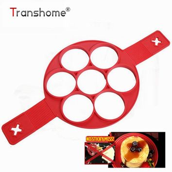 Non Stick Perfect Pancakes Cooking Tool Egg Pan Flip Breakfast Maker Cheese Egg Cooker Eggs Mold Kitchen Baking Accessories