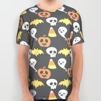 Adorable Halloween Pattern All Over Print Shirt by Adorkible