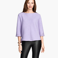 H&M Wide-cut Sweatshirt Top $17.95
