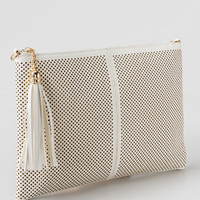 Leona Perforated Crossbody