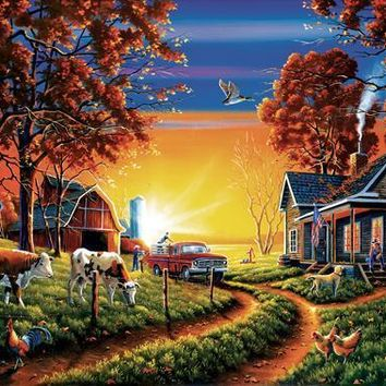 Up and At'em 500pc Jigsaw Puzzle