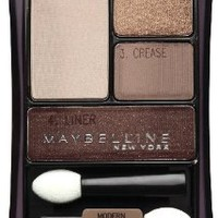 Amazon.com: Maybelline New York Expert Wear Eyeshadow Quads, Chai Latte 22q, 0.17 Ounce: Beauty