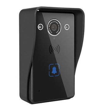 720P HD Wireless Wifi Remote Doorbell Intercom System Night Vision Waterproof Video Camera Phone Home Security