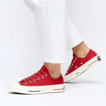Converse Chuck Taylor All Star '70 Low Trainers In Red at asos.com
