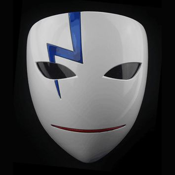 Movie Theme Party Masks Anime Smile Hei Lee Cosplay Props Halloween Darker Than Black Resin Masks Dropship