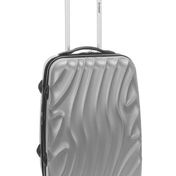 """F145-SILVERWAVE Melbourne 20"""" Expandable Abs Carry On Luggage Set"""
