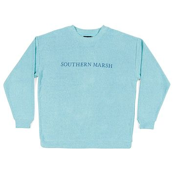 Sunday Morning Sweater in Mint by Southern Marsh