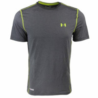 Under Armour Men's HeatGear Sonic Fitted Compression T-Shirt, Multi-color (Size S-XL)