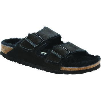 Arizona Shearling Lined Narrow Sandal - Women's
