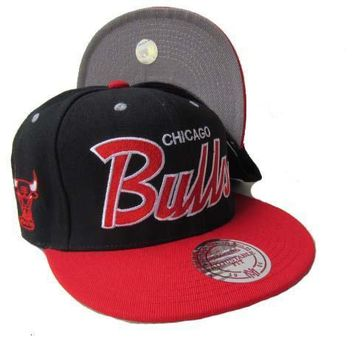 PEAPON Chicago Bulls NBA 9FIFTY Cap Black-Red