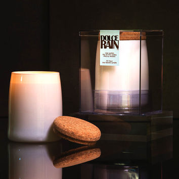 Michael Anthony Furniture Dolce Rain Water Scented Soy Candle