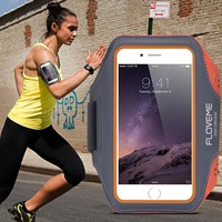 FLOVEME Universal Sports Arm Band Case for iPhone 6 6S 7 for iPhone 7 6 Plus Running Fitness Phone Arm Band Accessories Cover