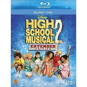 High School Musical 2 : Extended Edition (Disney) (Bluray+dvd)
