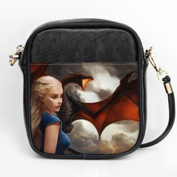 Mother of Dragons Crossbody Purse
