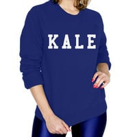Kale Fashion Sweatshirt - T-shirt - Womens Raglan fashion tee - cute womens top - fashion top - style tee - beyonce shirt