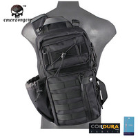 Emersongear Tactical Backpack Men 1000D Waterproof 3 Sling Back Pack Army Shoulder Military Multi-purpose Molle Sport Bag EM8607