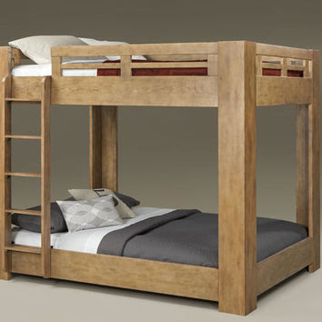 Centennial Driftwood Full over Full Bunk Bed
