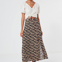 UO Talula Floral Button-Down Maxi Skirt | Urban Outfitters