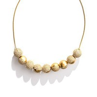 Women's JEWELRY - necklaces - Shimmer Sphere Necklace - Madewell