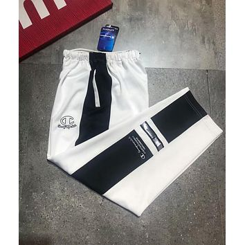 Champion Stylish Women Embroidery Sport Stretch Pants Trousers Sweatpants Joggers I-XMCP-YC