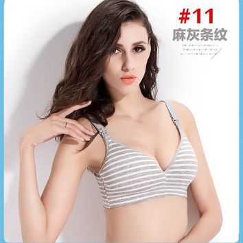 New Breastfeeding cotton Maternity Nursing Bra