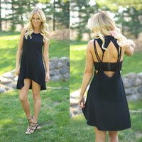 Summer Simplicity Dress in Jet Black