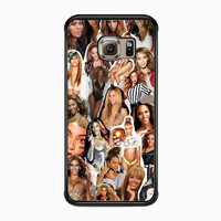 Beyonce Collage for Samsung Galaxy S6 Edge Case *02*