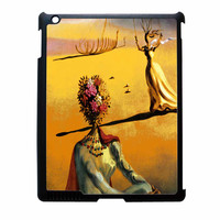 Salvador Dali Woman With Flower Head Vogue iPad 2 Case