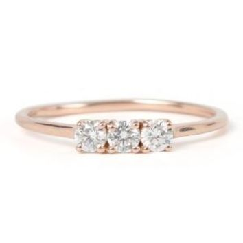 Catbird :: shop by category :: JEWELRY :: Triple Diamond Ring
