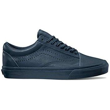 Vans Unisex Old Skool Reissue Leather Midnight Navy