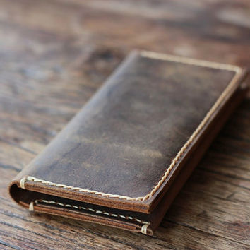 Men's Leather Wallets / Custom Leather Wallets Handmade / Mens Wallet - Wallets / 013 - Groomsmen Gifts - Mens Wallets