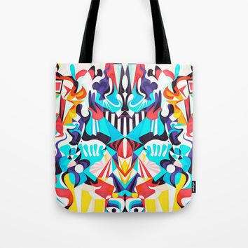 Adore Everything Tote Bag by Anai Greog