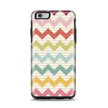 The Vintage Summer Colored Chevron V4 Apple iPhone 6 Plus Otterbox Symmetry Case Skin Set