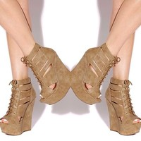 KNOCKOUT WEDGE-TAUPE