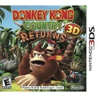 Donkey Kong Country Returns 3D (Nintendo 3DS)