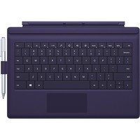 Microsoft - Type Cover for Surface Pro 3 - Purple