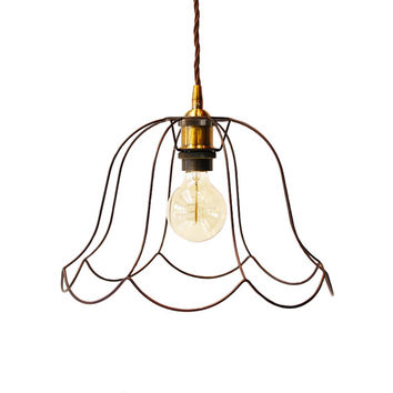 Industrial Vintage Pendant cage Light Victorian Lampshade Modern Lighting Minimalist Lamp Geometric Light Ceiling Chandelier Home Decor