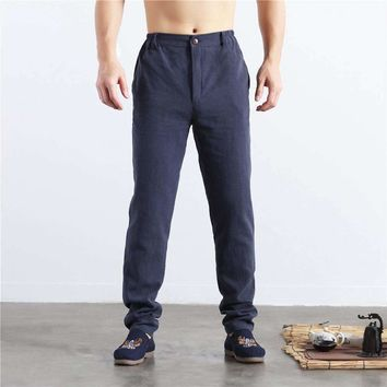 2018 Rushed Tactical Pants New During The Spring And Autumn Feet Men Of Cultivate Morality Show Thin Men's Leisure Of Height