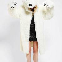 Urban Outfitters - Polar Bear Coat Costume