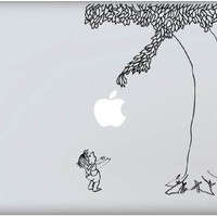 High Quality Giving Apple Tree Decal - Vinyl Macbook / Laptop Decal Sticker