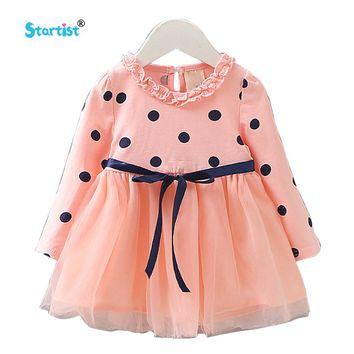 Startist Baby Dresses For Girls Autumn Baby Dress Long Sleeve