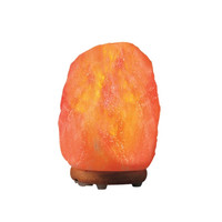 Himalayan Salt Table Lamp 3-4 Lbs